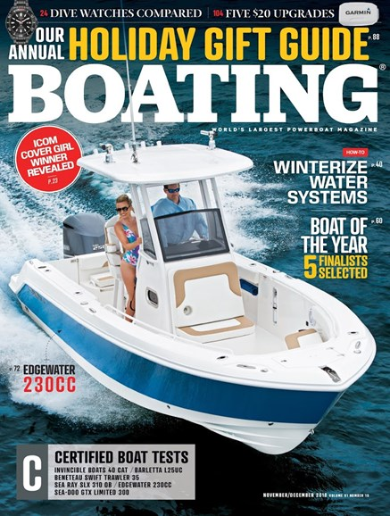 Boating Cover - 11/1/2018