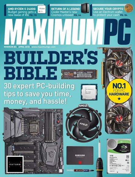 Maximum PC Cover - 4/1/2018