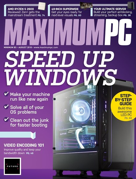 Maximum PC Cover - 8/1/2018