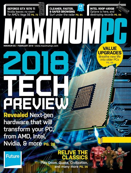Maximum PC Cover - 2/1/2018