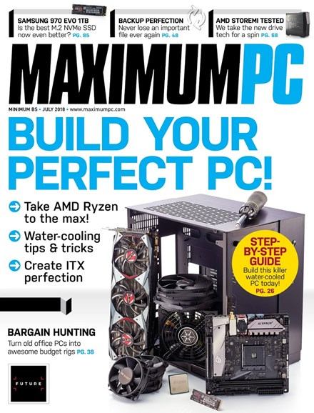 Maximum PC Cover - 7/1/2018