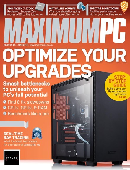 Maximum PC Cover - 6/1/2018