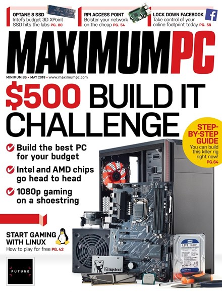 Maximum PC Cover - 5/1/2018