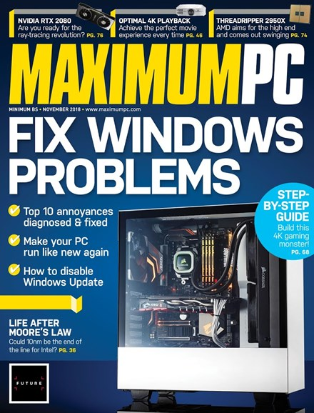 Maximum PC Cover - 11/1/2018