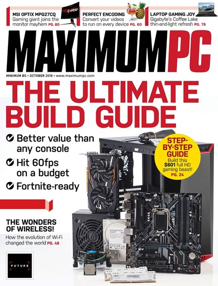 Maximum PC Cover - 10/1/2018