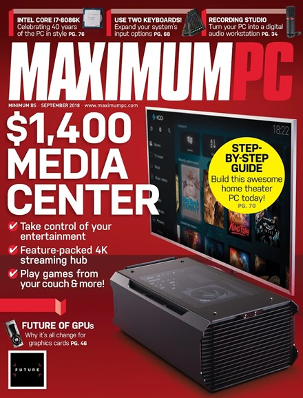 Maximum PC Cover - 9/1/2018