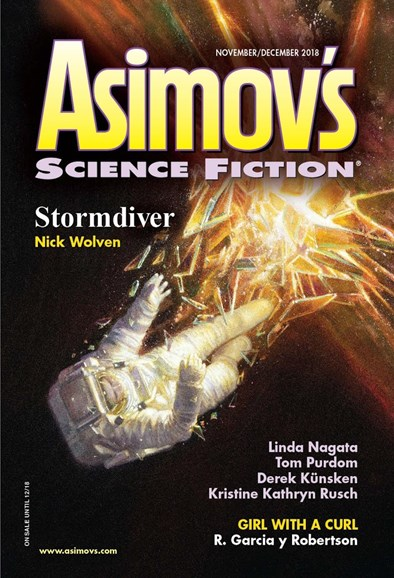 Asimov's Science Fiction Cover - 11/1/2018