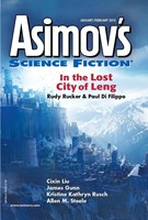 Asimov's Science Fiction 1/1/2018