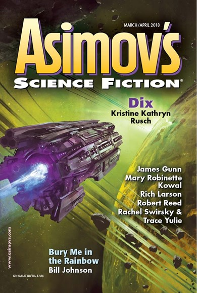 Asimov's Science Fiction Cover - 3/1/2018