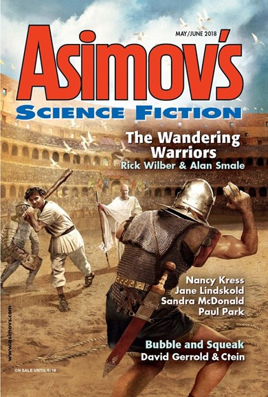 Asimov's Science Fiction Cover - 5/1/2018