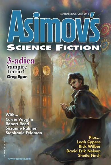 Asimov's Science Fiction Cover - 9/1/2018