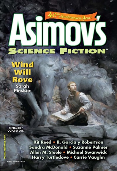 Asimov's Science Fiction Cover - 9/1/2017