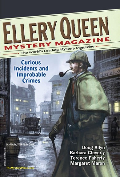 Ellery Queens Mystery Cover - 1/1/2018