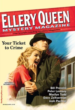 Ellery Queens Mystery | 11/1/2018 Cover