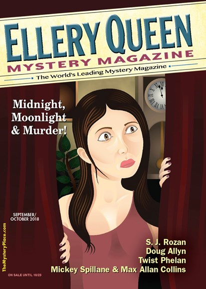 Ellery Queens Mystery Cover - 9/1/2018