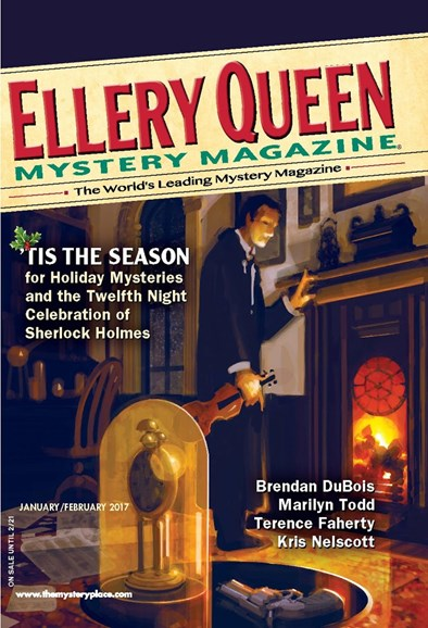 Ellery Queens Mystery Cover - 1/1/2017