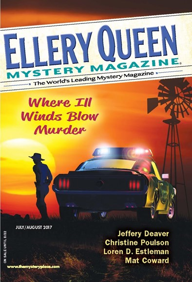 Ellery Queens Mystery Cover - 7/1/2017