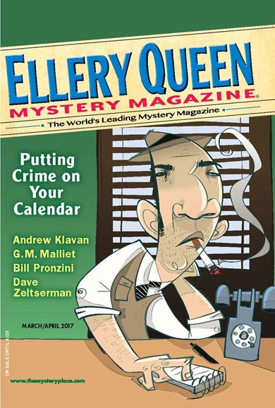 Ellery Queens Mystery Cover - 3/1/2017