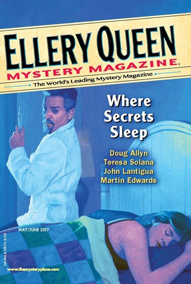 Ellery Queens Mystery Cover - 5/1/2017