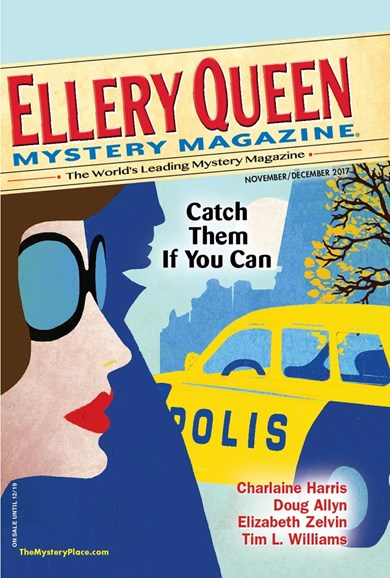 Ellery Queens Mystery Cover - 11/1/2017