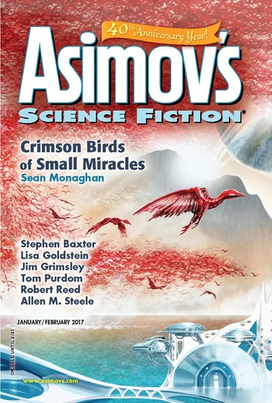 Asimov's Science Fiction Cover - 1/1/2017