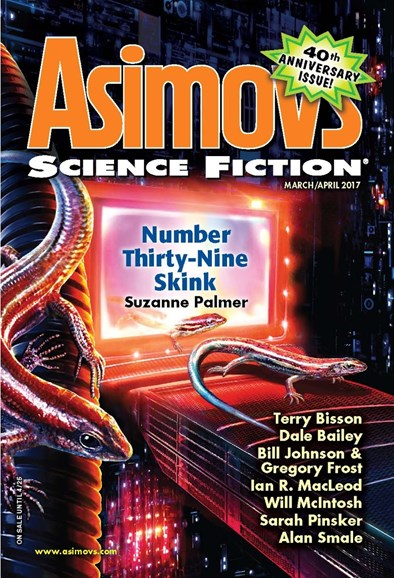 Asimov's Science Fiction Cover - 3/1/2017