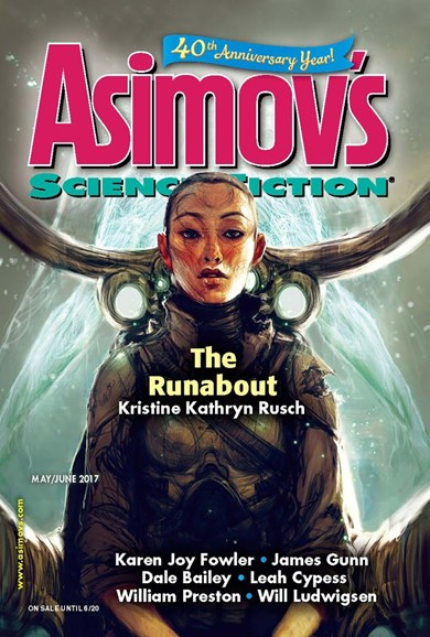 Asimov's Science Fiction Cover - 5/1/2017