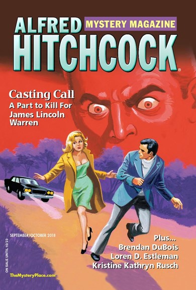 Alfred Hitchcock Mystery Magazine Cover - 9/1/2018