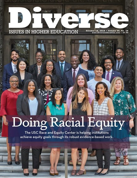Diverse: Issues In Higher Education Cover - 10/18/2018