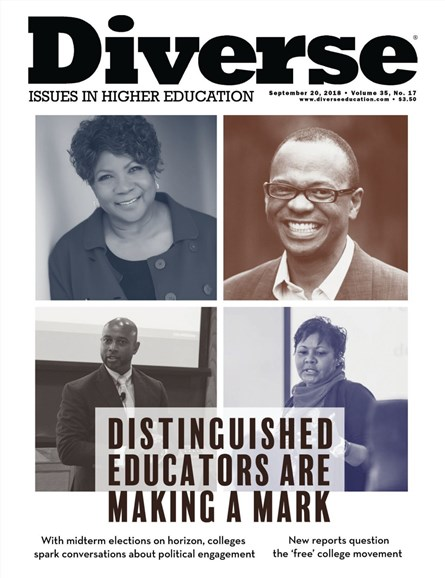 Diverse: Issues In Higher Education Cover - 9/20/2018
