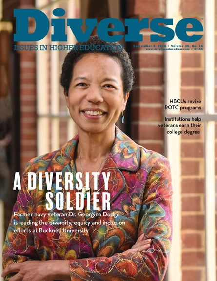 Diverse: Issues In Higher Education Cover - 9/6/2018