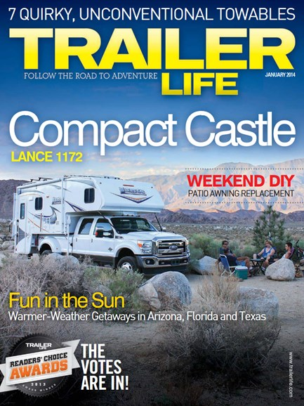 Trailer Life Cover - 1/1/2014