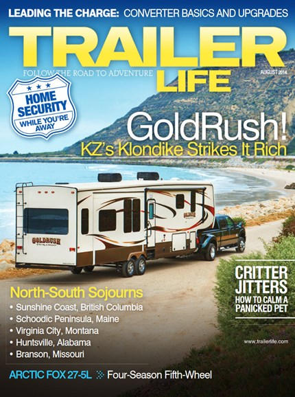 Trailer Life Cover - 8/1/2014