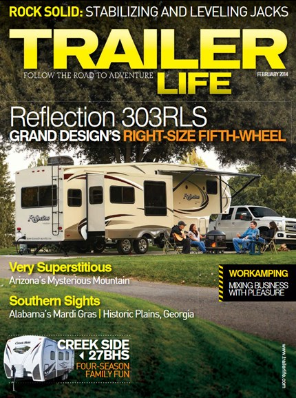 Trailer Life Cover - 2/1/2014