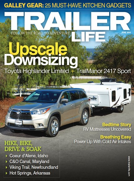 Trailer Life Cover - 6/1/2014