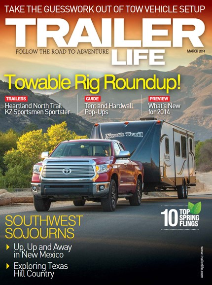 Trailer Life Cover - 3/1/2014
