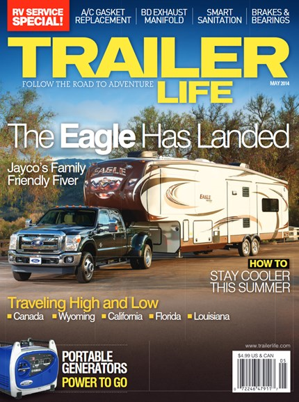 Trailer Life Cover - 5/1/2014