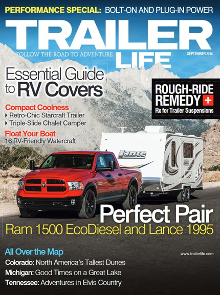 Trailer Life Cover - 9/1/2014