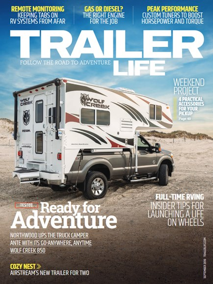 Trailer Life Cover - 9/1/2018