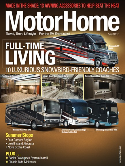 MotorHome Cover - 8/1/2017