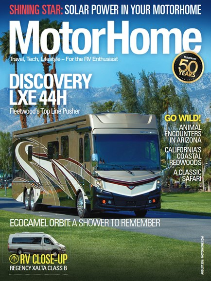 MotorHome Cover - 8/1/2018