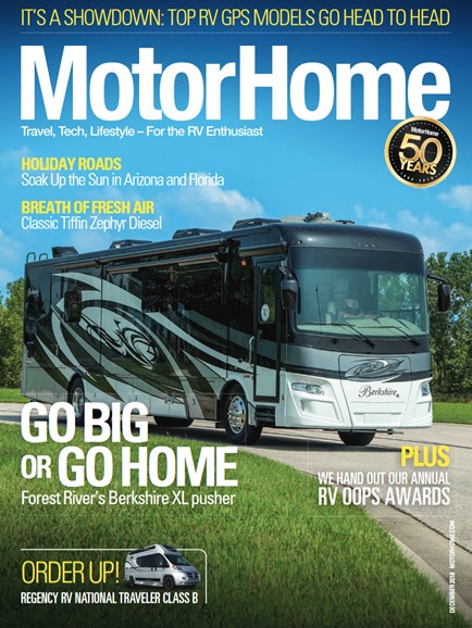 MotorHome Cover - 12/1/2018