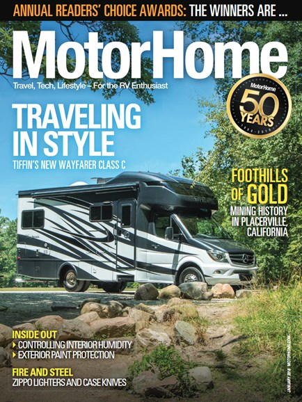 MotorHome Cover - 1/1/2018