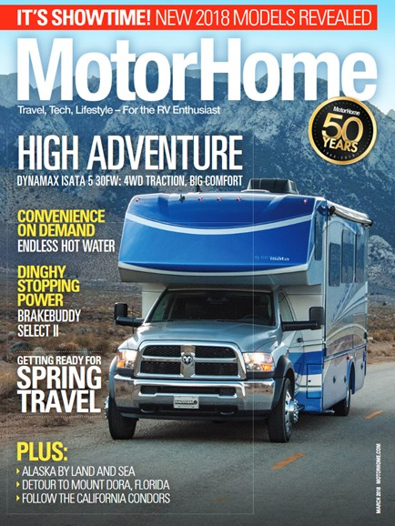 MotorHome Cover - 3/1/2018
