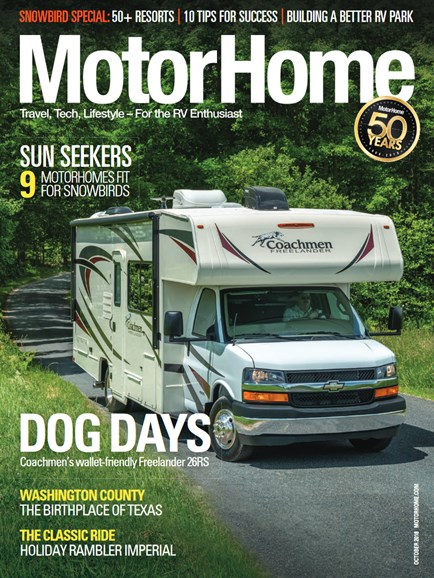 MotorHome Cover - 10/1/2018