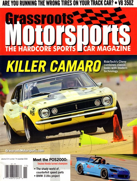 Grassroots Motorsports Cover - 11/1/2018
