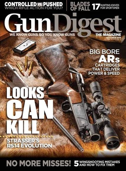 Gun Digest Cover - 10/1/2018