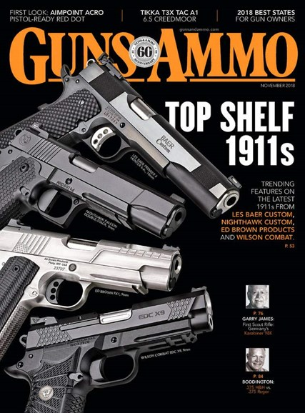 Guns & Ammo Cover - 11/1/2018