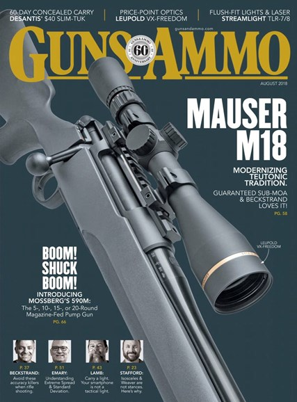 Guns & Ammo Cover - 8/1/2018