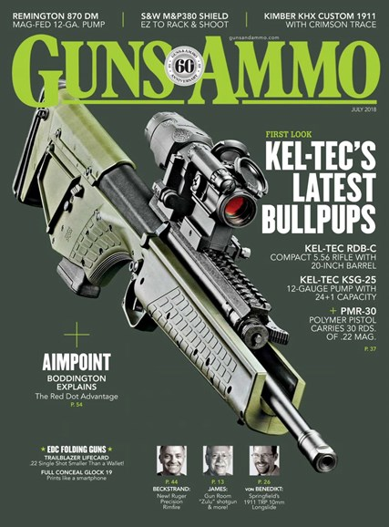 Guns & Ammo Cover - 7/1/2018